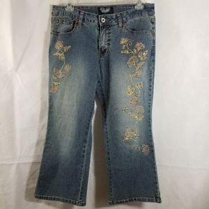 Angels embroidered jeans 9